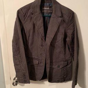Eddie Bauer blazer, legendwash grey jacket, Medium